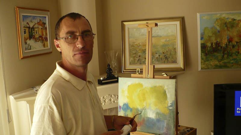 GEORGE SPAIUC - Artistul, intre a fi si a picta!
