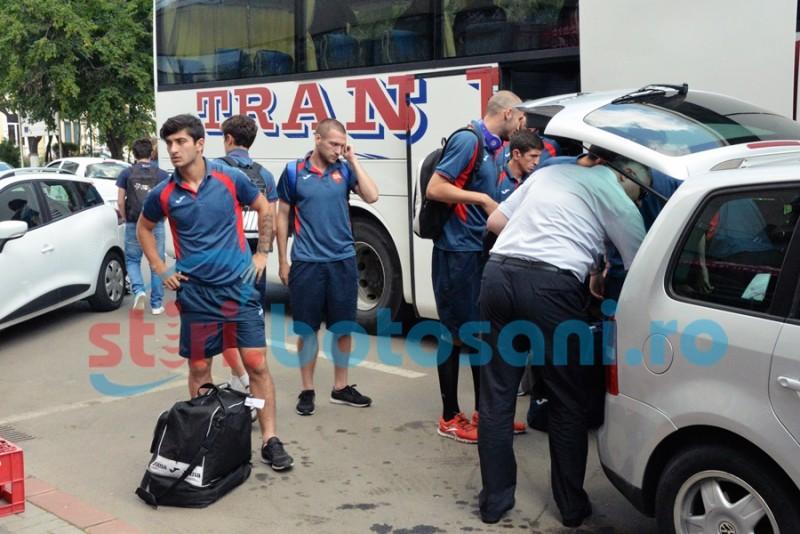 """Georgienii de la Spartak Tskhinvali au ajuns la Botosani: """"Sansele sunt de ...."""" - GALERIE FOTO"""