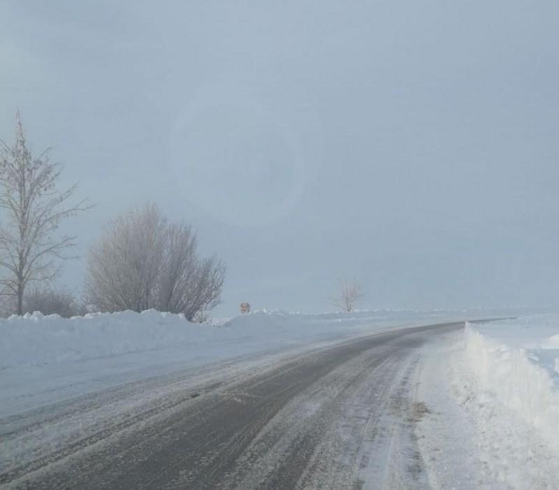 Ger în toată Moldova. Află cum se circulă pe drumurile naționale