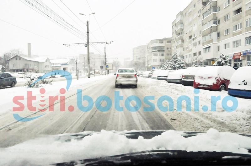Ger, sâmbătă dimineaţa, la Botoşani! Până la cât a ajuns minima!