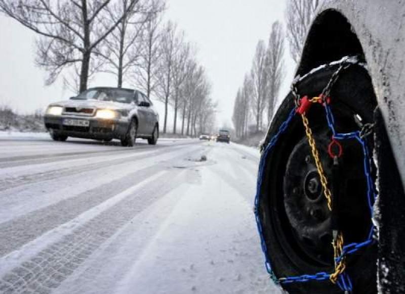 Gerul persistă în Moldova. Cum se circulă pe drumurile naționale!