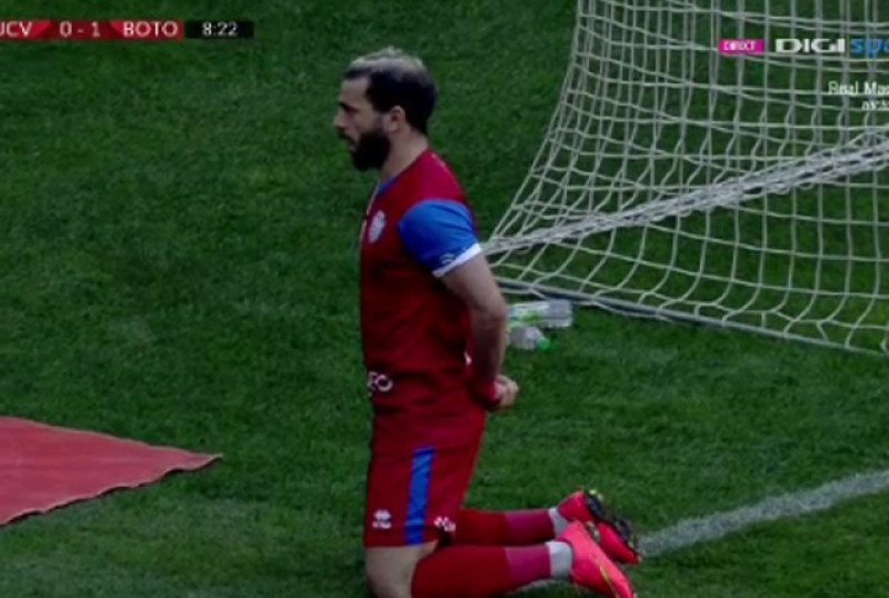 Gestul său face înconjurul lumii! Explicația reacției lui Al Mawas după golul marcat în fața Craiovei