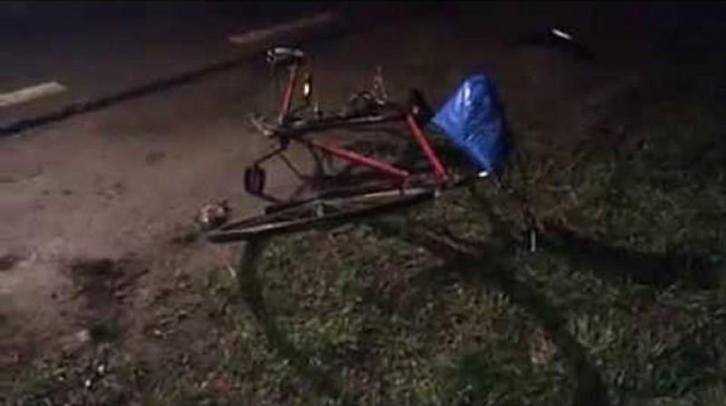 Ghinion: I-a ieșit în față un biciclist cu alcoolemie 1,13!