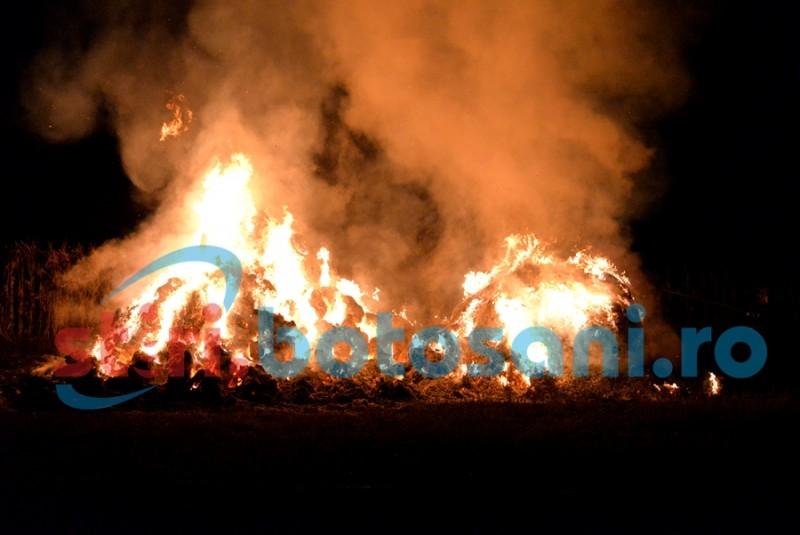 Ghinion pentru proprietarul unei case din Botoşani. A fost afectat de două incendii în două zile