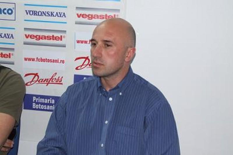 Giani Florian, antrenor secund FC Botoşani: `În primul rând trebuie să ne clarificăm situaţia noi antrenorii`