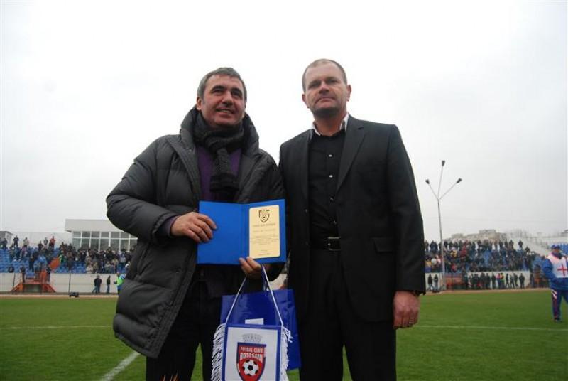 "Gica Hagi: ""FC Botosani e foarte buna pe teren propriu"""
