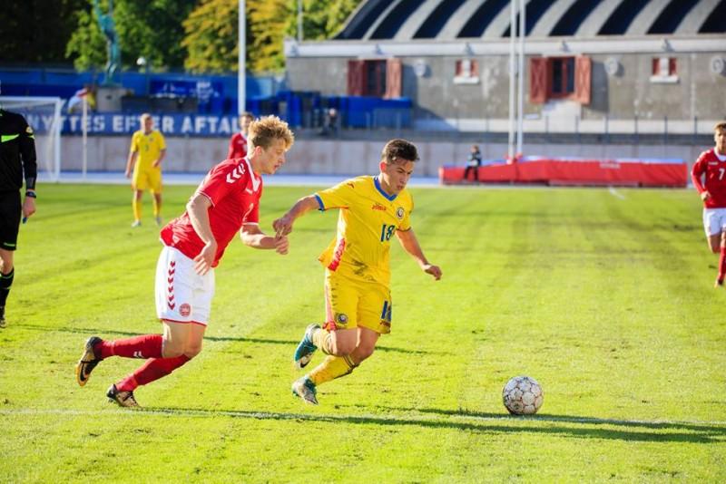 Gol superb marcat de Morutan pentru Romania U19! Victorie in fata Greciei - VIDEO