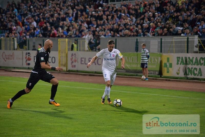 Golgheterul FC Botoşani părăseşte echipa. S-a transferat la o fostă campioană