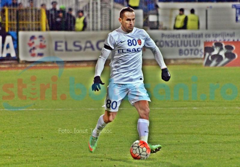 Golgheterul echipei FC Botosani, in pericol sa rateze ultimele doua meciuri din acest an!
