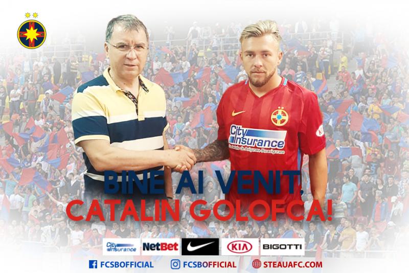 "Golofca a fost prezentat oficial la FCSB: ""Acum sunt stelist"" - FOTO"