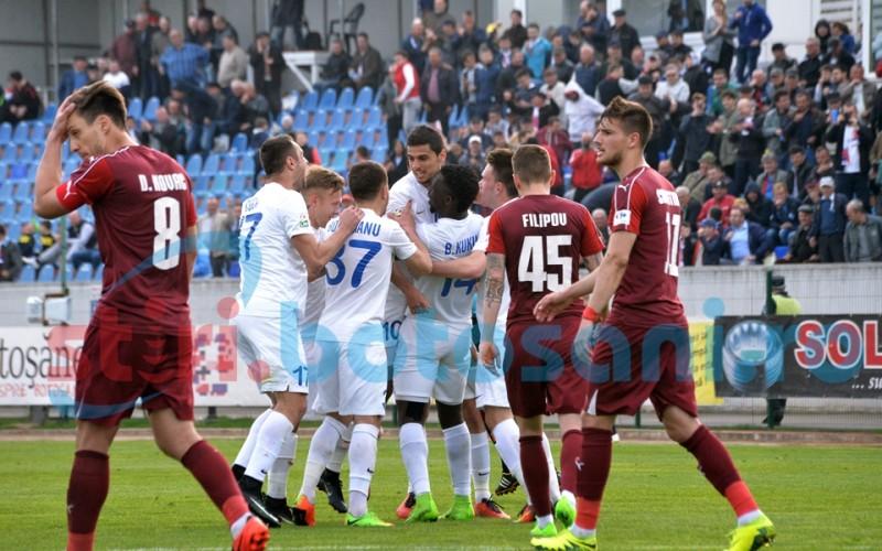 Golofca, Vaşvari şi Fulop îi dau frisoane lui Claudiu Niculescu şi trupei sale! FC Botoşani - FC Voluntari 3-0 FOTO