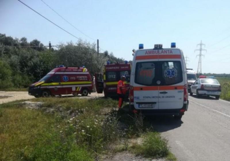 Grav accident produs de un botoșănean ieri la Tulcea - VIDEO