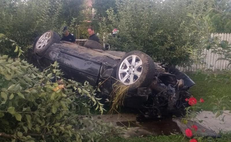 Grav accident produs de un tânăr la Mănăstirea Doamnei!