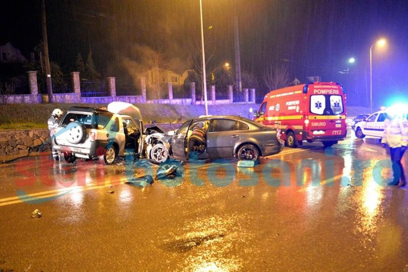 Grav accident rutier la Lebăda, cu șase victime! Un tânăr a murit! FOTO