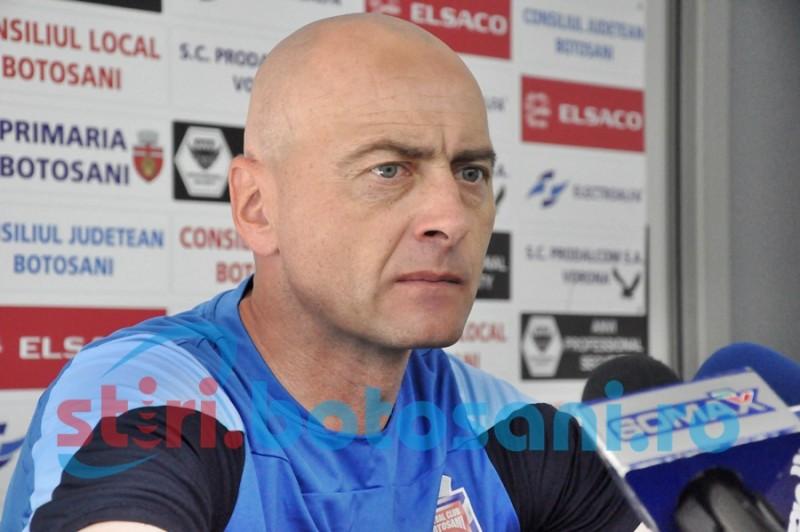 """Grozavu se mulţumeşte şi cu egal la Cluj: """"Ar fi bun şi un punct"""""""