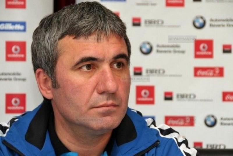 Hagi anunţă o echipă de puşti pentru meciul din Cupa României cu FC Botoşani