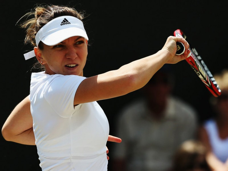 Halep a mai scapat de o jucatoare puternica la Wimbledon! Sharapova ramane in cursa!