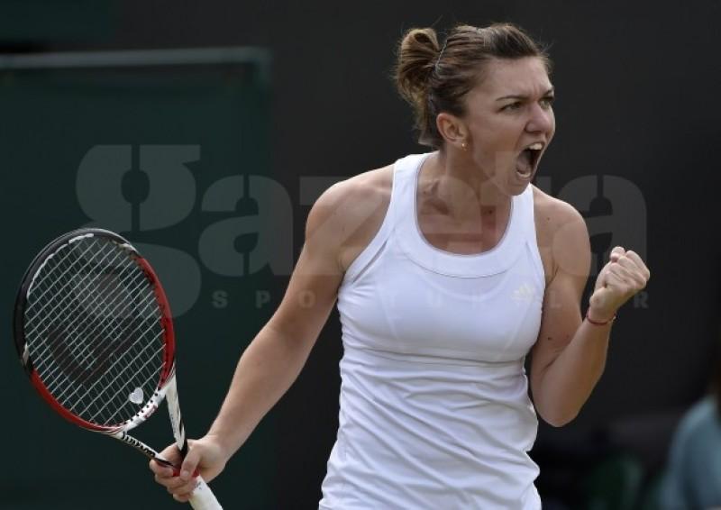 HALEP doboara toate recordurile! A devenit prima sportiva din Romania calificata in semifinalele de la Wimbledon!