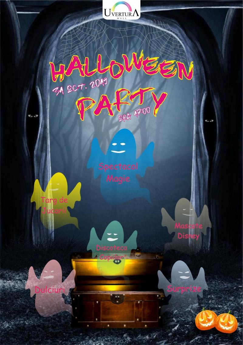 Halloween Party la Uvertura Mall