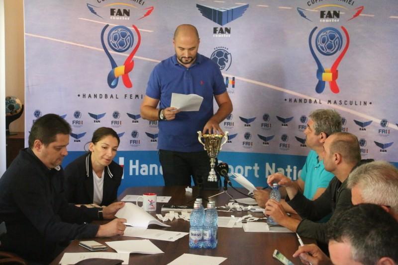 Handbal: Tragerea la sorţi în Cupa României FAN Courier. Cu cine va juca CSM Botoșani