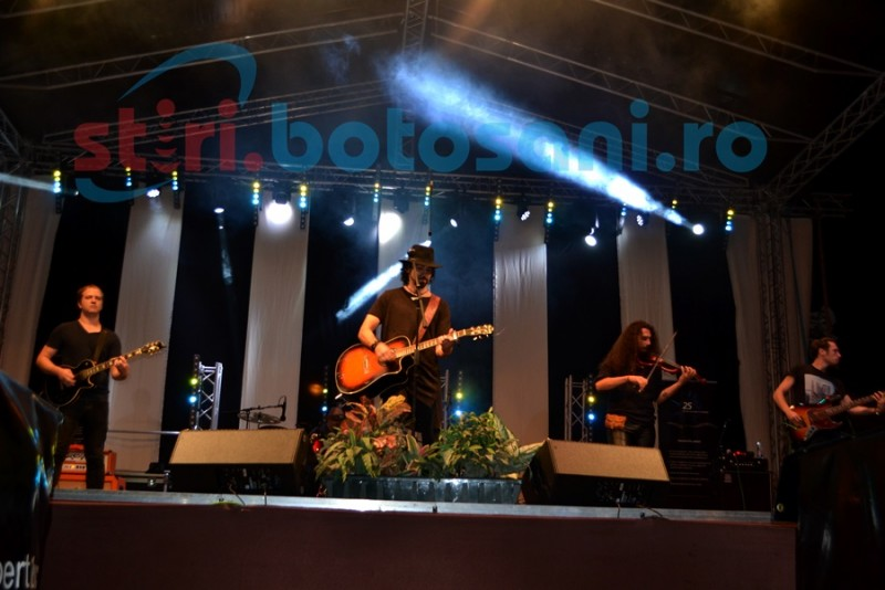 Hara s-a întors la Botoşani pentru un concert apreciat de public! FOTO- VIDEO