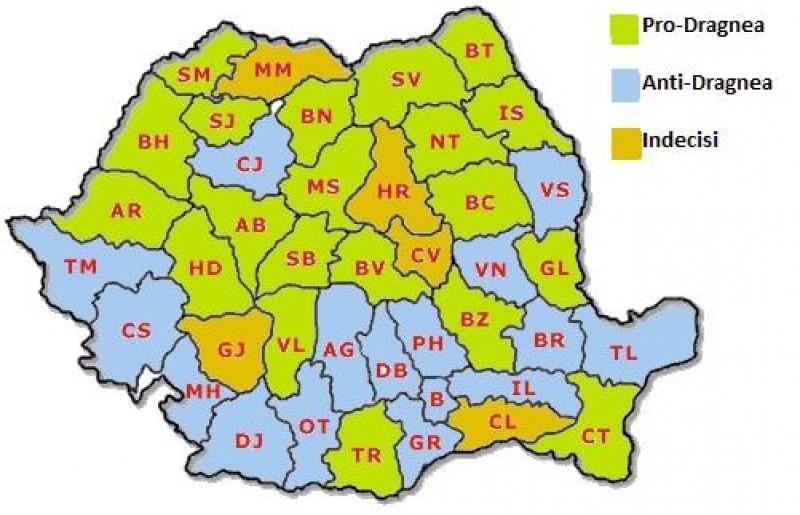 Harta taberelor din PSD, înaintea Comitetului Executiv. Luptă strânsă între contestatarii și susținătorii lui Dragnea