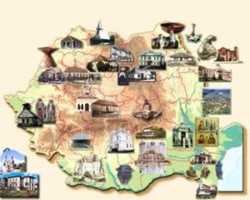 Harta Turistica A Romaniei Botosaniul Printre Cele Mai
