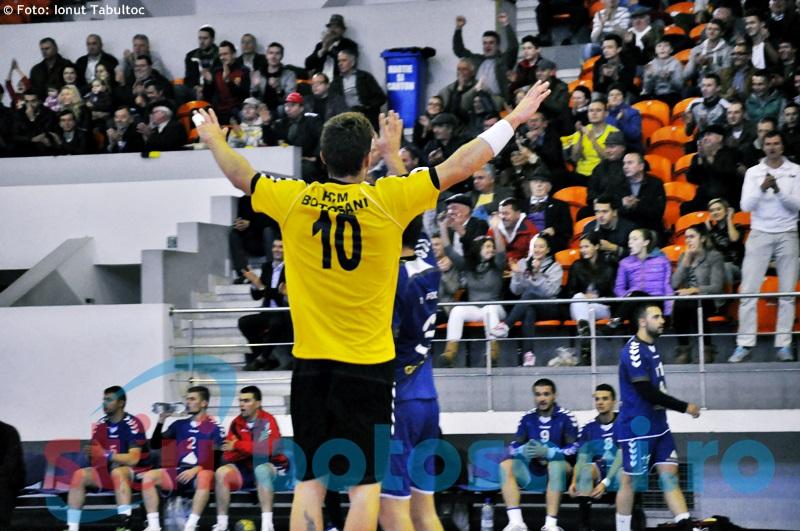 HCM Botosani a castigat cu 30-24 meciul cu CSM Focsani - GALERIE FOTO