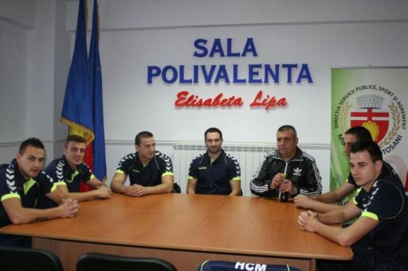 """HCM Botosani la primul meci in Divizia A: """"Mergem sa castigam"""""""