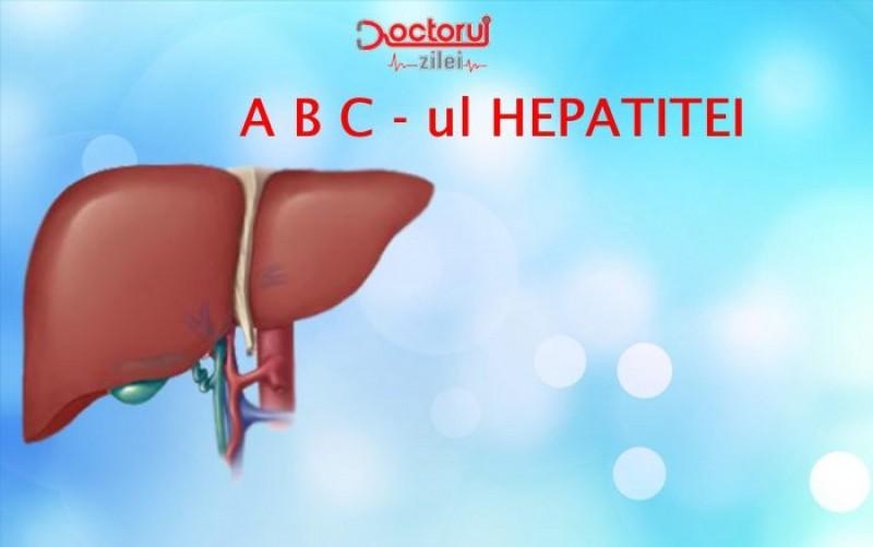 HEPATITA... De la A la C. Cum deosebim tipurile de hepatită și care este cea mai periculoasă!