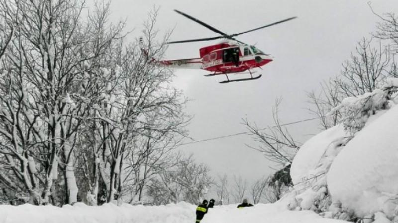 Hotel lovit de o avalanşă în Italia. 30 de persoane dispărute sub nămeți!