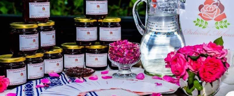 Idei de afaceri: cum a inceput o tanara din Botosani propria afacere cu trandafiri pentru dulceata