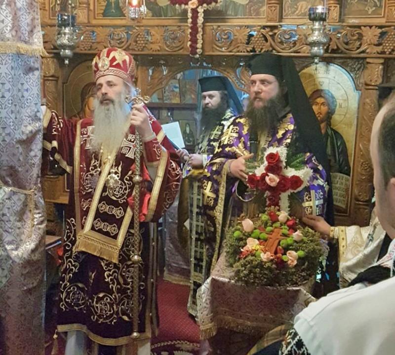 Ieromonahul Siluan Antoci, hirotosit protosinghel de către IPS Teofan, în prezența starețului Mănăstirii Zosin!