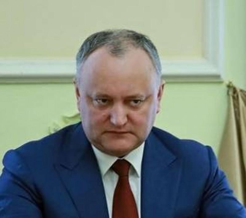 Igor Dodon: Poporul moldovean nu va uita lucrurile bune pe care Rusia le-a facut si le face pentru el