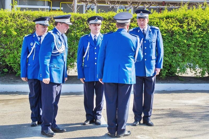 Jandarmi botoșăneni avansați în grad de Ziua Jandarmeriei - FOTO