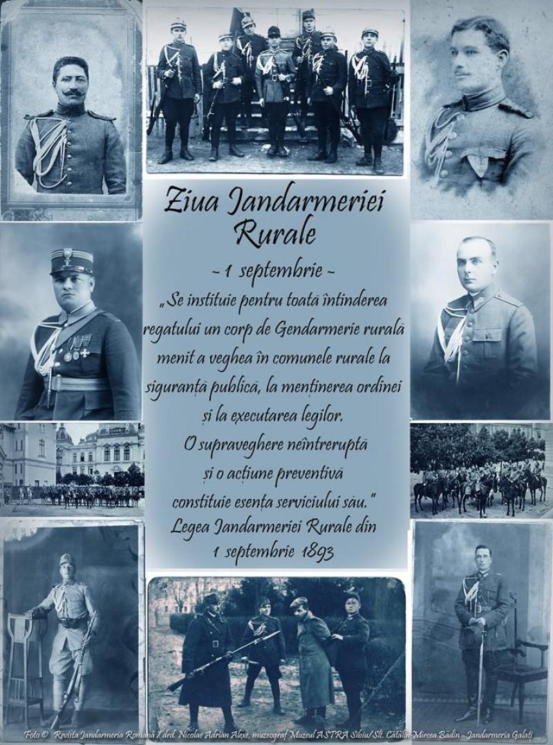 IJJ Botoșani: 124 de ani de la înființarea Jandarmeriei Rurale