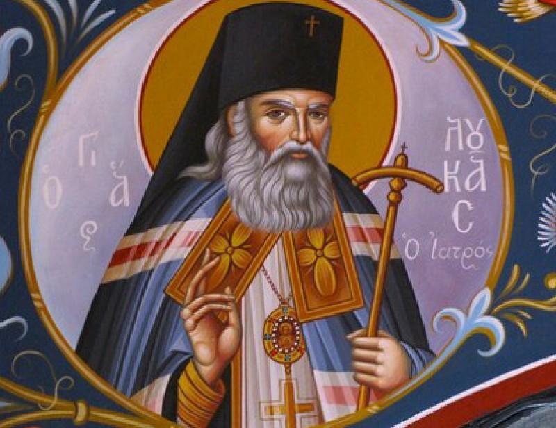Îl cinstim astăzi pe Sfântul Luca al Crimeei, arhiepiscopul-chirurg - VIDEO