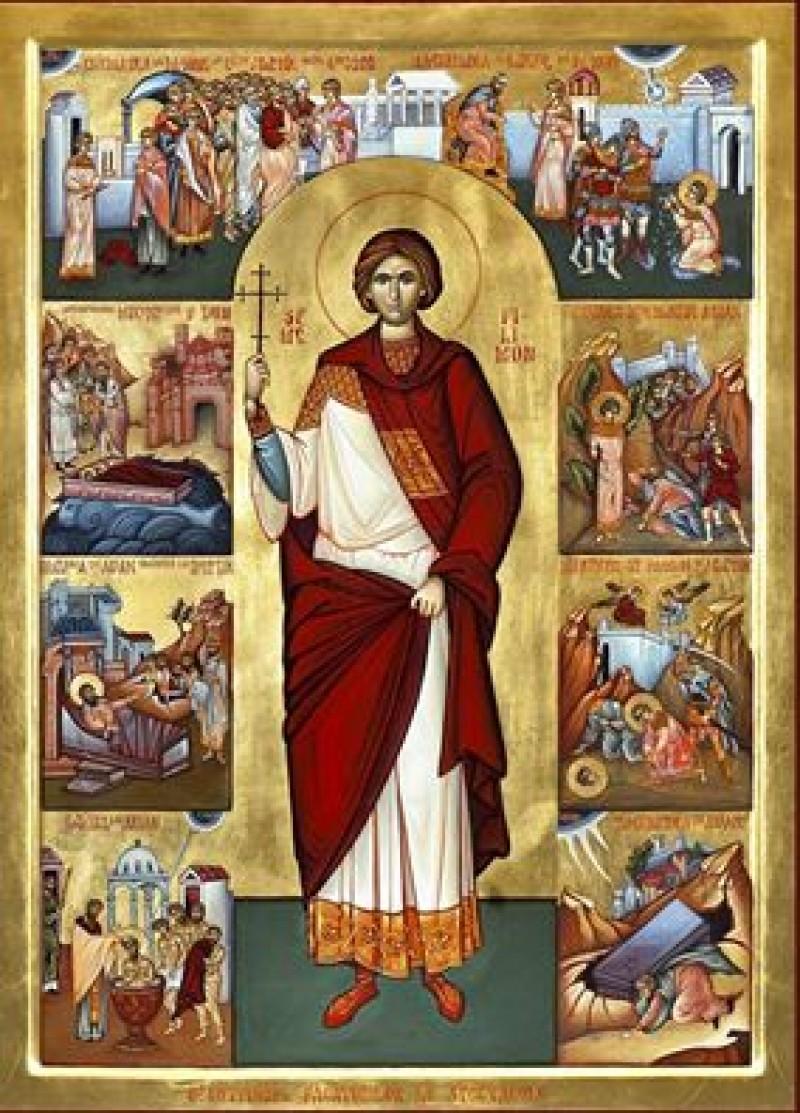 Îl cinstim astăzi pe Sfântul Mucenic Filimon, ocrotitorul actorilor și al făuritorilor de spectacole!