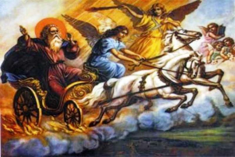 Ilie Pălie şi Foca, personajele mitice ale lunii iulie, lipiţi de Sfântul Ilie