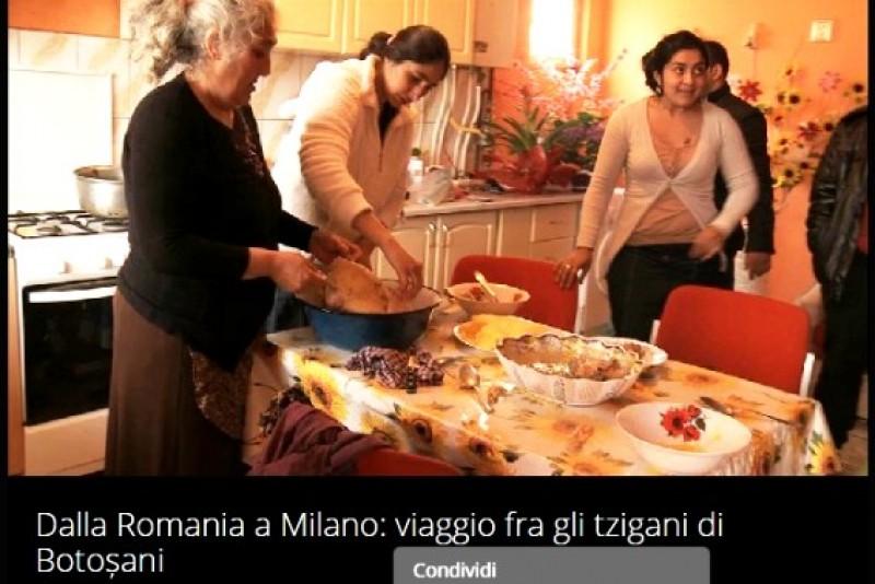 """Imaginea României în Italia: Reportaj din """"Vietnam"""", celebrul cartier din Botoșani, transmis la cel mai urmărit talk show din Italia!"""