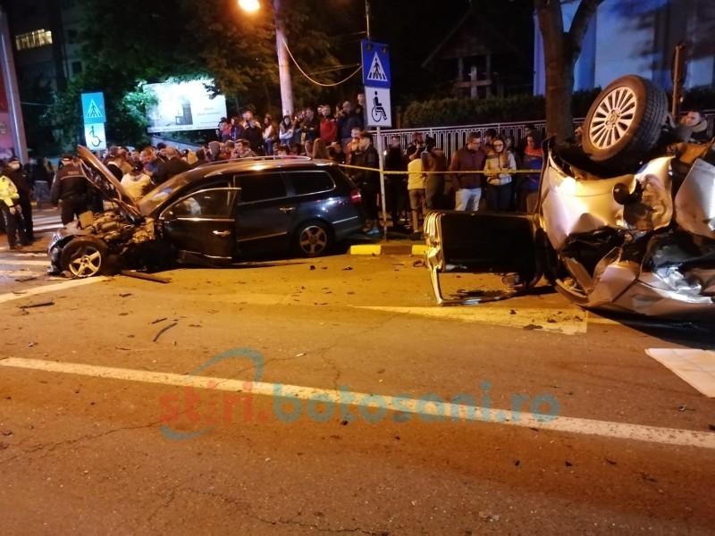 Impertinență absolută: Tânărul care a provocat accidentul de pe Bulevard, a fugit de la Urgențe