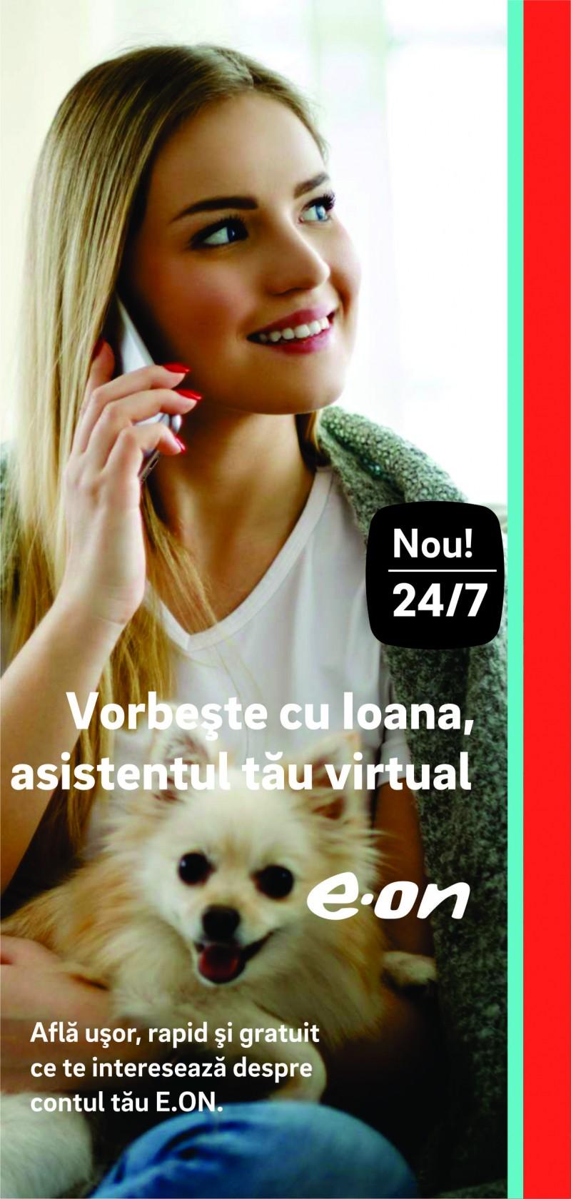 În atenția botoșănenilor: Ioana, un nou serviciu dedicat clienţilor E.ON!