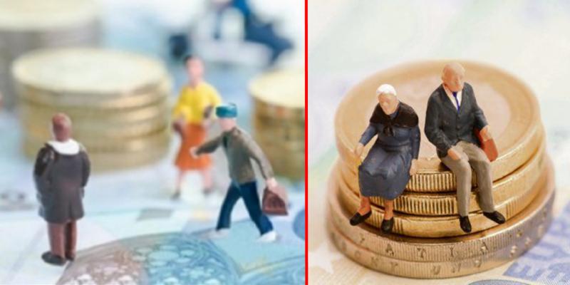 În județul Botoșani, 10 salariați susțin 14 pensionari!