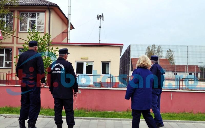 În județul Botoșani au răsunat alarmele de înștiintare și avertizare a populației! FOTO, VIDEO