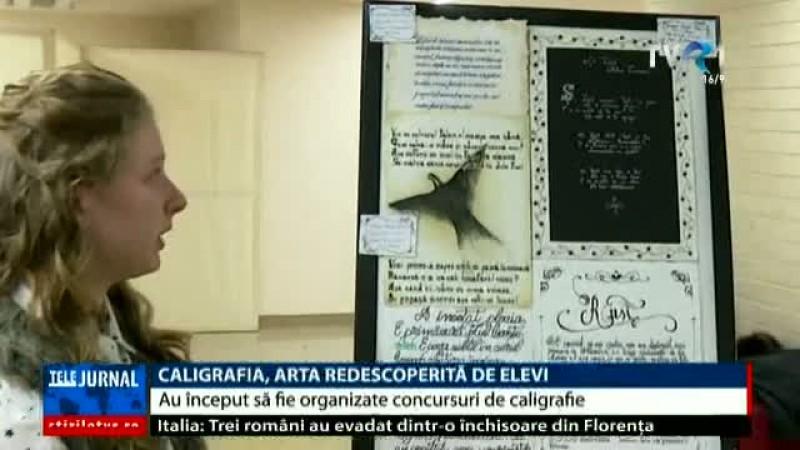 În România s-a organizat primul concurs de caligrafie!