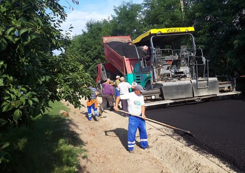 În sfârșit: drum nou spre satul Șoldănești din comuna Blândești!