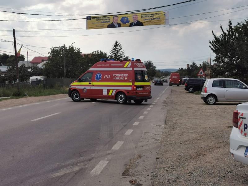 În urmă cu puțin timp: O femeie din Mihai Eminescu a fost la un pas de a-și incendia locuința