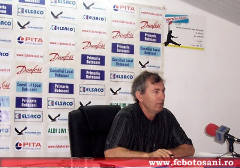 In vremuri de criza, conducerea FC Botosani impune însă obiective măreţe