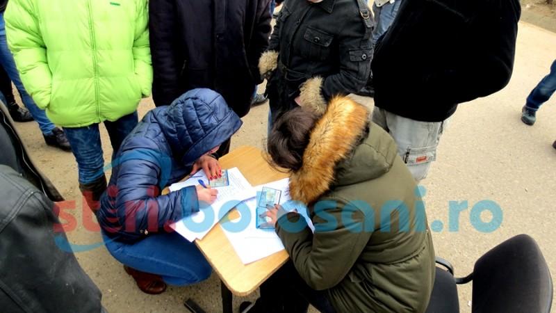 Inadvertențe în listele depuse de protestatarii de la Corni, pentru referendum!