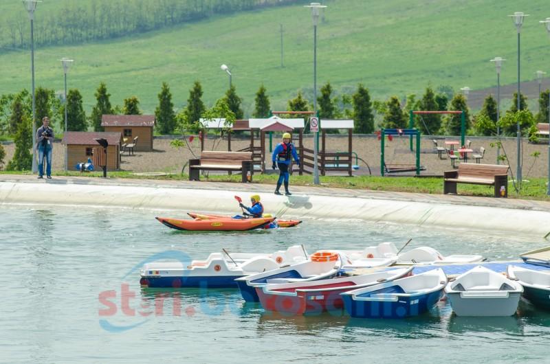 Inaugurarea celui mai mare parc de agrement, cu primar și fost primar, politicieni, șefi de instituții, parlamentari! FOTO